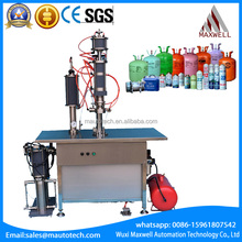 Refrigerant gas filling machine, air conditioning refrigerant oil lubricants aerosol filling machine