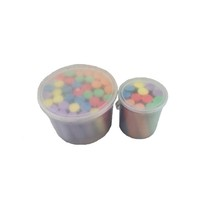 10 pcs blastic bucket school students chalk for blackboard sidewalk chalk