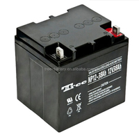 Sealed maintenance free 12 volt battery 12v 38ah battery agm deep cycle gel battery 33ah 38ah 40ah 50ah 55ah etc