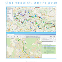 Customizable Google map gps tracking system for Cars, Logistics,Transportations
