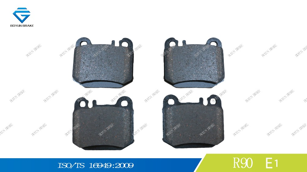 Best price for no noise car brake pad D874 1634200720