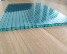 Plastic building roofing material polycarbonate 2 wall pc sunshine sheet