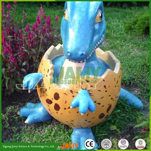 CUte Fiberglass Dinosaur Egg for Decoration