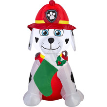 dachshund weiner dog inflatable christmas husky dog yard christmas inflatable