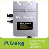 high quality mppt 260w waterproof micro solar grid tied inverter
