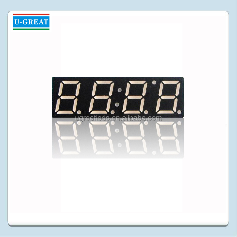 1.5 Inch 4 Digits 7 Segment LED Display for Countdown Timer