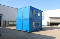 easy portable movable portable container prefabricated modular cabin sentry box for house