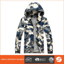 men's fashionable summer camouflage jacket for young ladies and men