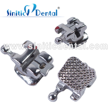 Sinitic Dental high quality self ligating smooth lock self ligat orthodont bracket for teeth