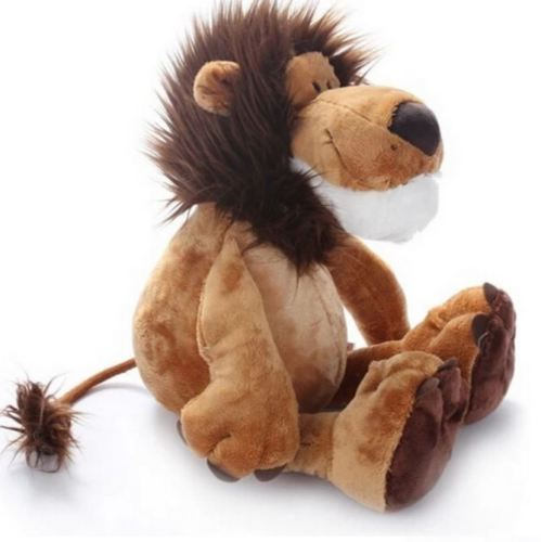 New lion doll plush stuffed animal soft toy - kids and baby 25 CM