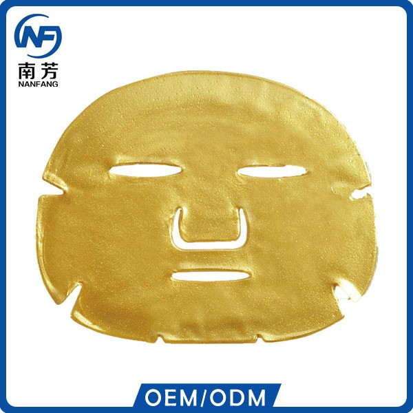 hydrogel gold face mask deep moisturizing Anti-wrinkle Anti-aging 24k gold Facial Mask
