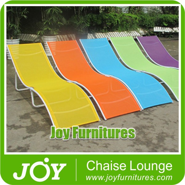 Outdoor Sling Chaise Lounges