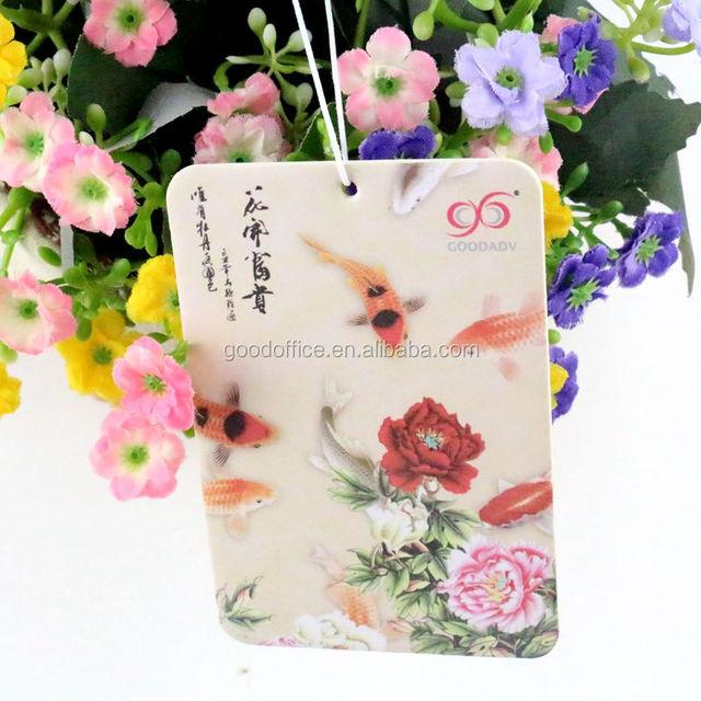 Custom Absorben Paper Air Freshener,Nature Lavender Fragrance car air freshener