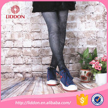 lace sublimation legging fashion printing tights for women OEM