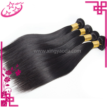 Natural Color Cuticle Aligned Human Hair Silky Straight Hair Weft & Extension