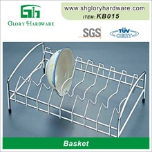 Chrome Finished Metal Cheap Fashionable High Quality Pull Out Drawer Wire Basket