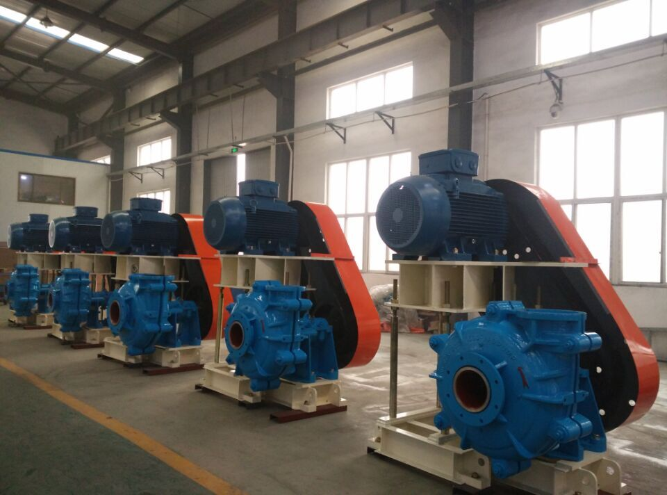 <strong>10</strong>/8ST Long Working Life Horizontal Centrifugal Anti-Abrasive Mining Slurry Pump