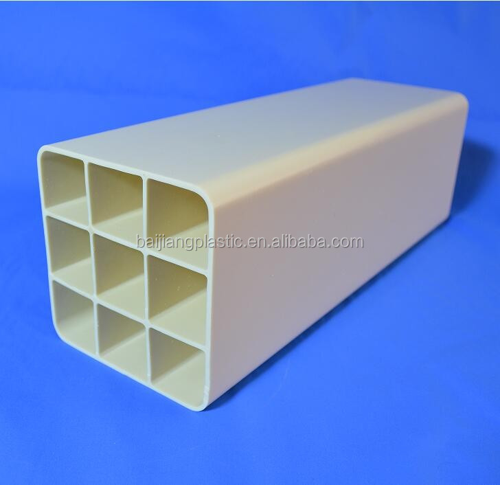 BAIJIANG Schedule 40 Square conduit PVC Hydroponic System Pipe and Fittings Price List