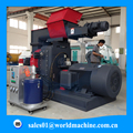 (Skype: hnlily07) Complete Wood Pellet Production Line / Ring Die 10mm Straw Pellet Machine For Export