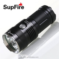 30w SupFire M6 rechargeable camping industrial waterproof powerful outdoor led torch
