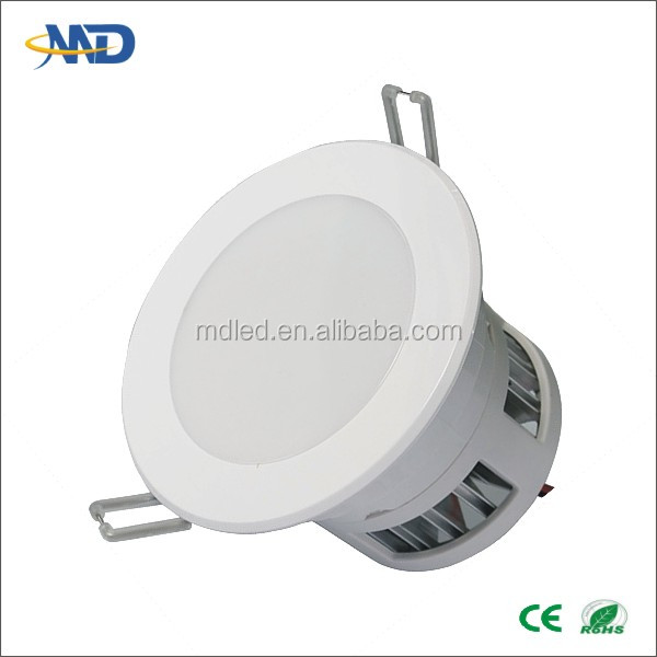 5W led ceiling downlight 90-277V Aluminum+ABS 3 years warranty cob led down light aladdin trade