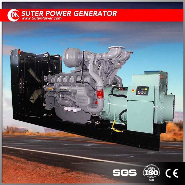 Open type 1375kva/1100kw Electric diesel engine by UK suppliers