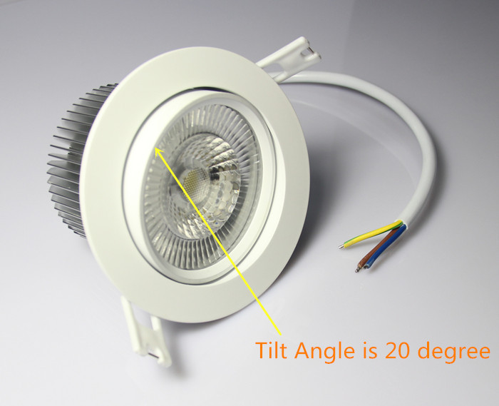 main product 10W cob dimmable AC driverless NEW led downlight kit