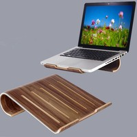 bend black walnut wood Products for Tablet / Laptop radiator stand
