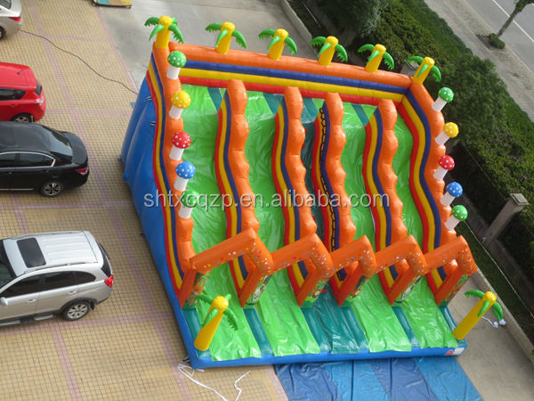 commercial inflatable water slides for kids and adults