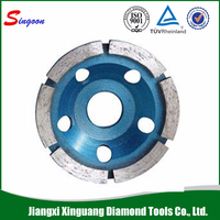 Abrasive Tools/ Metal Bond Stone Diamond Turbo Cup Grinding Wheels For Sharpening Stone