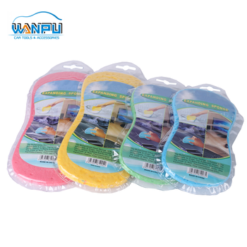 Eight Shaped seaweed Top quality super cleaning car sponge