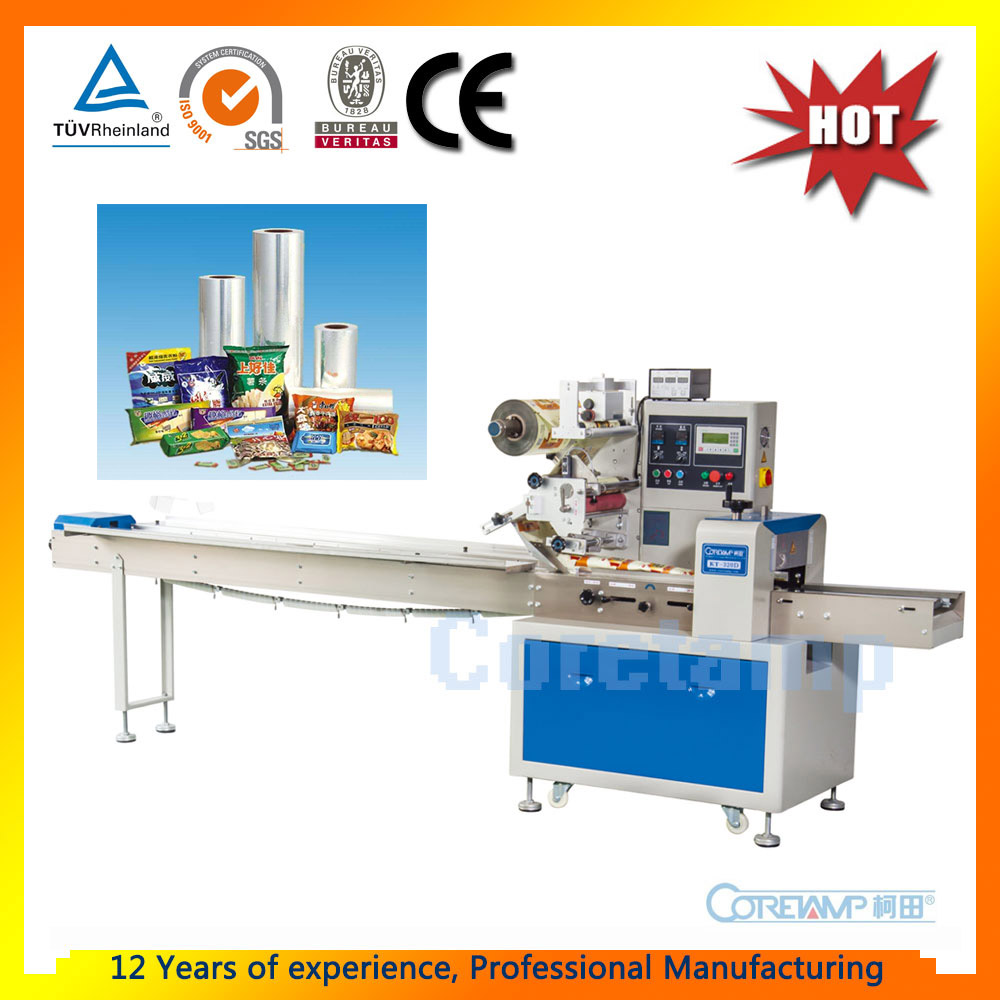 China Coretamp Flow Automatic Sample Packaging Machine