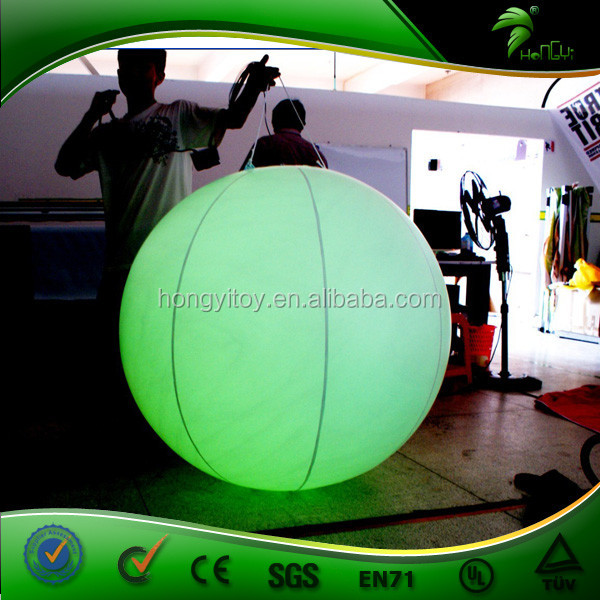 Inflatable 120cm Hot Interactive Air Balloon Inflatable Garden Ball Lighting Wedding Decoration
