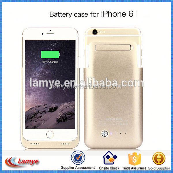 Li-Polymer battery 3200 Mah Power Case External Battery Backup Power Case Charger Cover Pack Power Bank for iPhone 6/6s/6plus