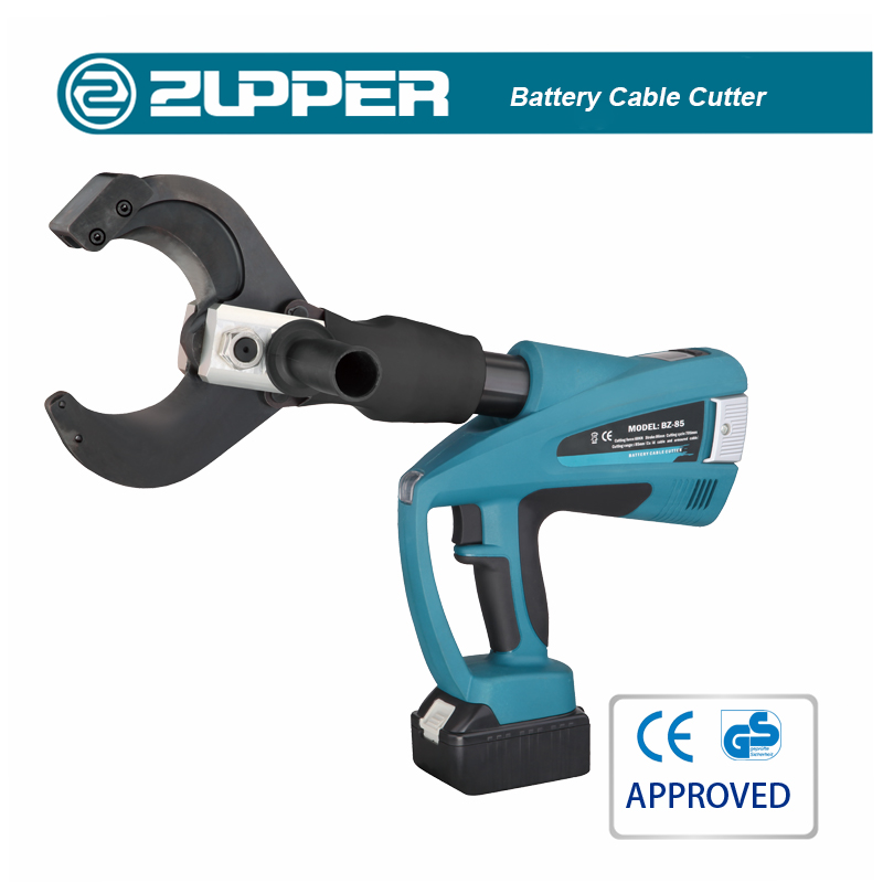 ZUPPER BZ-12 Battery hydraulic hole punch tools