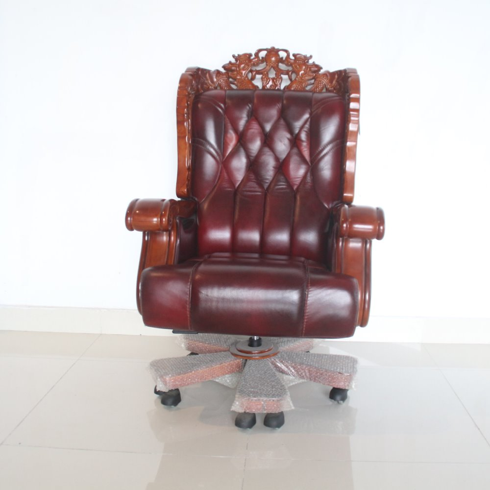 New swivel CEO recling office president chai picture leather executive chair LT03