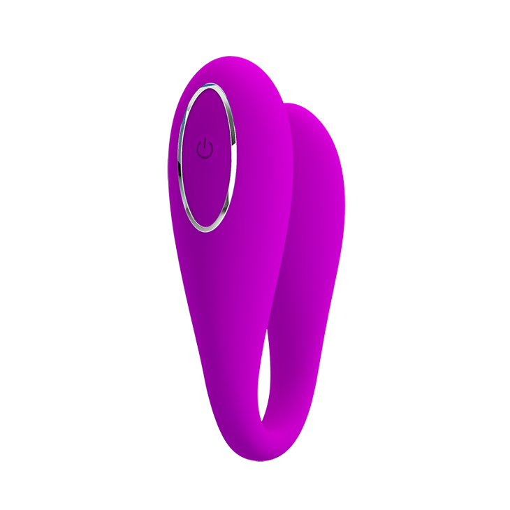APP Phone Control <strong>Vibrator</strong> 12 Modes Couple Lover Massager Sex Toy with USB Rechargeable - Purple