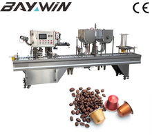 Automatic Coffee Capsule Filling Machine for Nespresso Cup,Cup Filling and Packing Machine Manufacturer