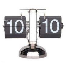 Auto Flip Down Clock with Single Holder