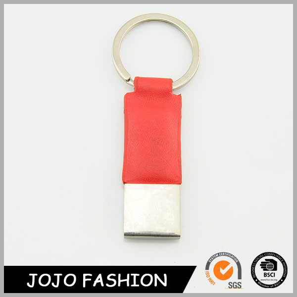 Custom Red Leather Neck Strap Keychain,Fashion Keychain Wholesale