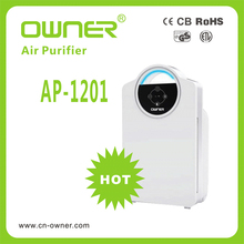 china Owner Intelligentize Hepa Air purifier/personal air cleaner ionizer Activated Carbon