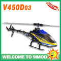 Walkera V450D03 6CH Generation II 6 Axis Gyro Brushless Flybarless Large RC Helicopter BNF ( W/O battery and charger )