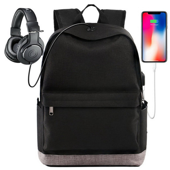 New design smart usb backpack laptop, classic school bags for college students