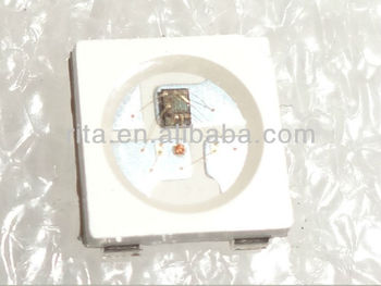 100pcs WS2812B;4pin;5050 SMD RGB LED with built-in WS2811 IC inside;