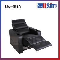 UV-821A Home theater leather recliner sofa