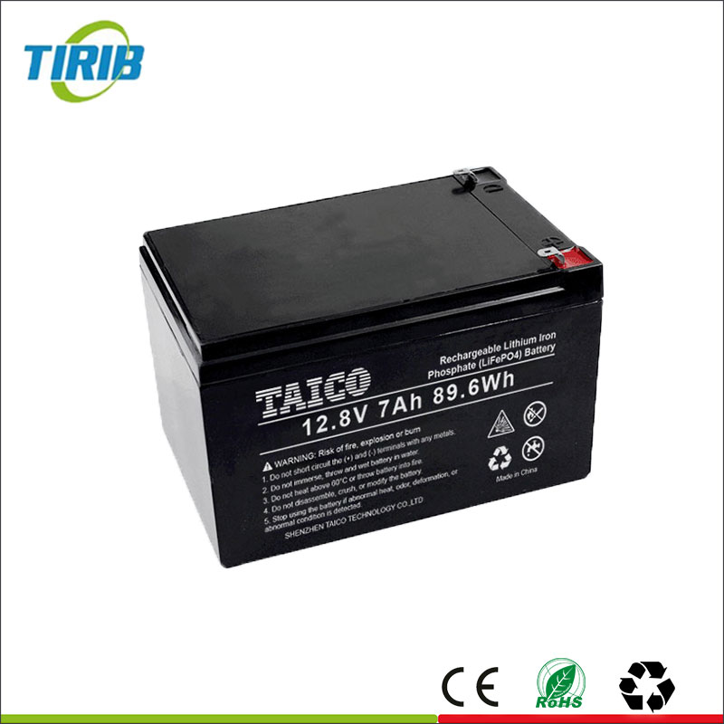 Factory direct cheap price rechargeable 12v li ion 7ah battery