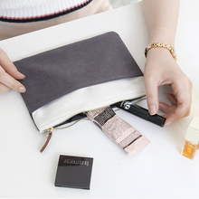 Custom Makeup Organizer Toiletry Bag Women Travel Canvas Cosmetic Makeup Bag