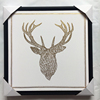 /product-detail/wall-mounted-stag-head-portrait-painting-stretched-canvas-art-gold-foil-pictures-60693884067.html