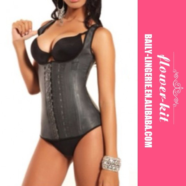 Belt Body Shaper Sport Latex Waist Cincher Black Faja Latex Waist Corset