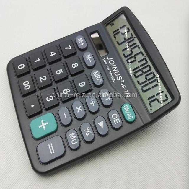cheap 12-digits electronic calculator